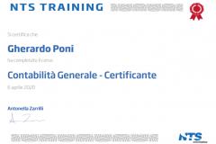 Certificazione Contabilità Generale
