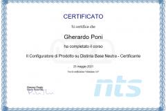 Certificazione Configuratore di Prodotto