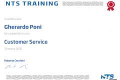 Certificazione Customer Service