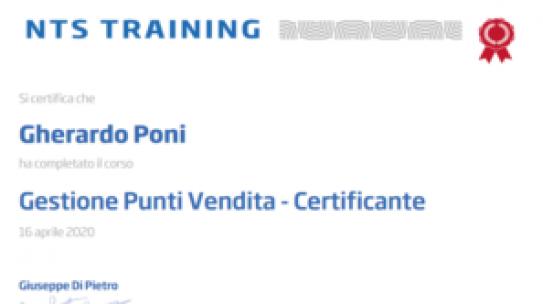 Certificazione GPV