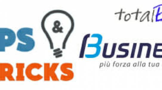 Progetto Tips & Tricks per Cube