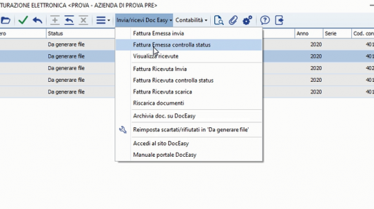 #PilloleDiCube – Controllo dello status dei documenti elettronici emessi